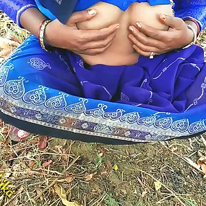 Indian Village Lady With Natural Hairy Cunt Outdoor Sex Desi Radhika