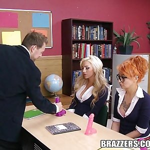 Brazzers - Lovemaking education with Danica Dillan