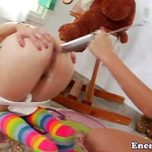 Milky enema colonique squirter