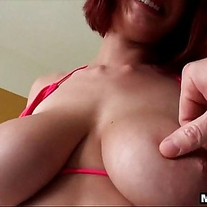 Redhead with huge tits gets fucked in the ass Jessica Robbin 1 3