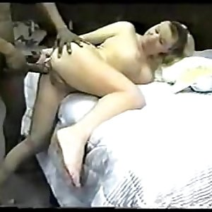 Homemade cuckold husband films wife fuck session with lover