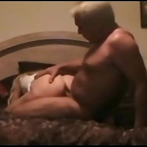 60 Years Old Man Fighting To Fuck Young Blonde Slut