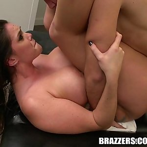 Brazzers - Alison Tyler gets all oiled up