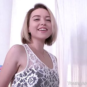 Young Anal Tryouts - Blowjob as foreplay before anal lovemaking