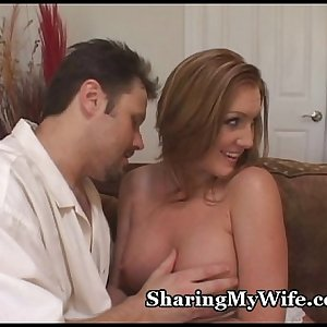 Redhead Wife Observed By Nerd Hubby