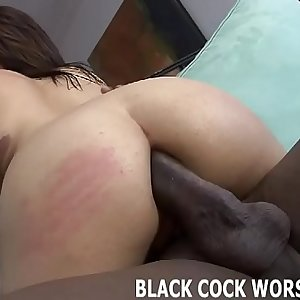 A black dick is exactly what my tight white pussy needs
