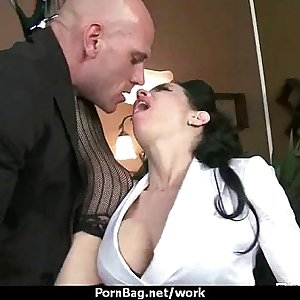 Hottest office fuck with busty chick 3