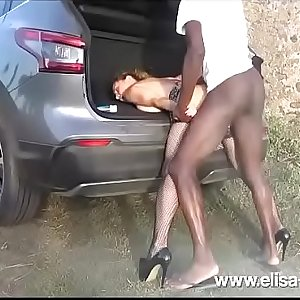 Sex Challenge 9 More Days (Interracial - Gangbang )