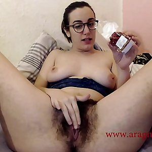 Trailer of my extreme experience masturbation: hot chili naga in my hairy pussy. I am young natural and sexy Aragne Spicy exploring my masochist pleasure. I am a switch Mistress and I love to cunt-grinding pain in pleasure, I only ca