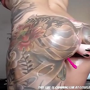 Wow She Is Fully Tattoed...