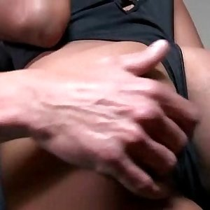 Ebony lady with a big booty gets a hard pounding