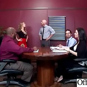 Hard Sex With Big Round Tits Nasty Office Girl (Nicole Aniston) video-18