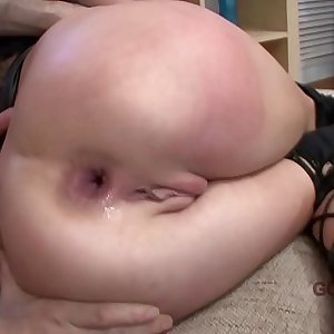 LEGALPORNO FULL SCENE - 3 on 1 Ashley Woods Hard Double Anal