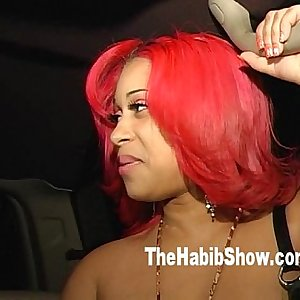 Pinky Gone Fetish mask at the Strip Club