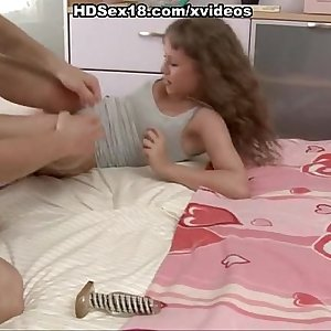 young girl fuck hard in the ass and mouth