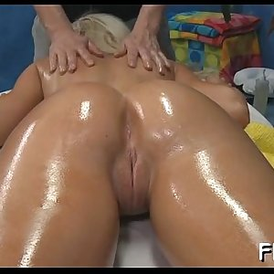 Oily massage porn