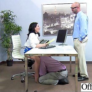 (casey cumz) Office Girl Get Seduced And Naild Hard Style clip-10