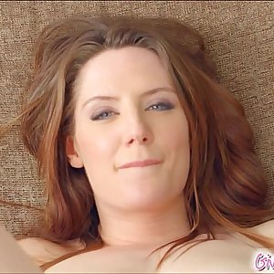 Give Me Pink British redhead without bra her ass with fucktoys