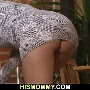 Hot mom seduces her sons GF