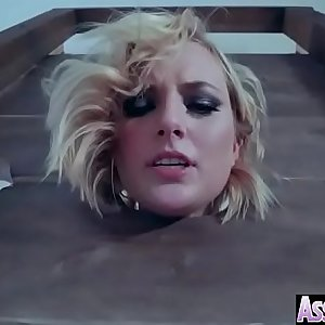 Wet Oiled Girl (Kate England) Get Anal Hardcore Sex vid-17