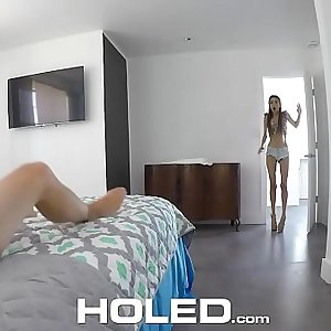 HOLED Keisha Grey clean asshole gets finger-tickled and filled up with dick