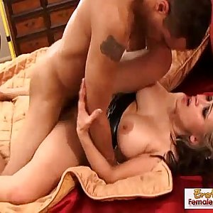 Soldier retuns from a long leave and fucks his woman
