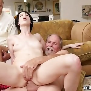 Fat horny old daddy Frannkie goes down the Hersey highway