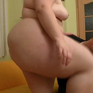 Lovely plumper is picked up and doggystyled