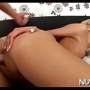 Woman gets huge cum shots on pretty face after great banging