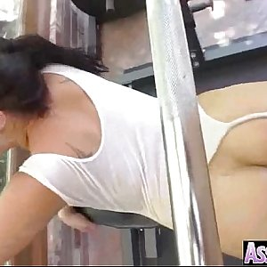 Big Ass Girl (london keyes) Get Oiled And Hard Anal Nailed On Camera movie-20